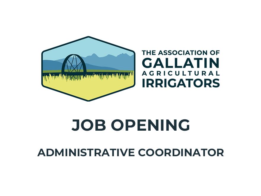 New Job Opening – Administrative Coordinator